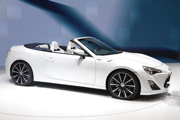 Toyota Ft 86 Open Concept Would Make A Mighty Fine Droptop Fr S