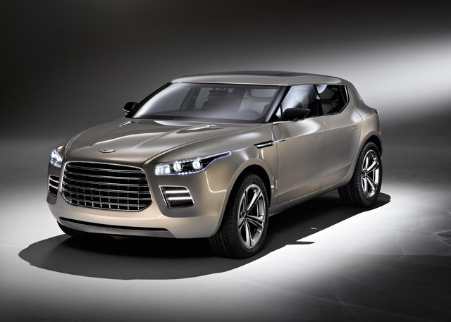 Aston Martin planning two or three Lagonda models