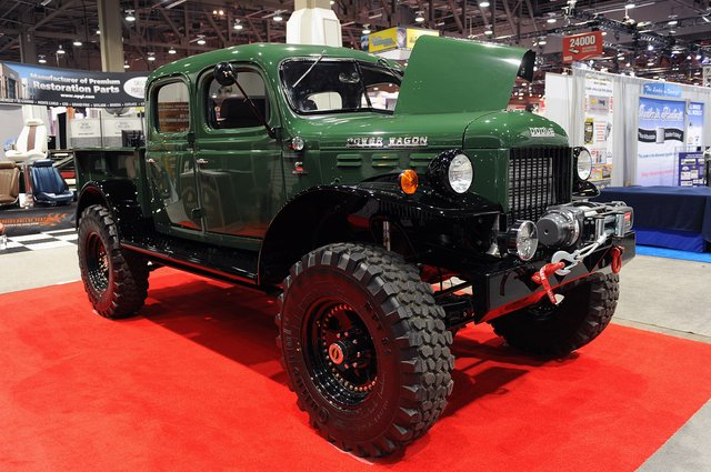 Legacy Power Wagon Conversion is three Tons of Vintage American Iron