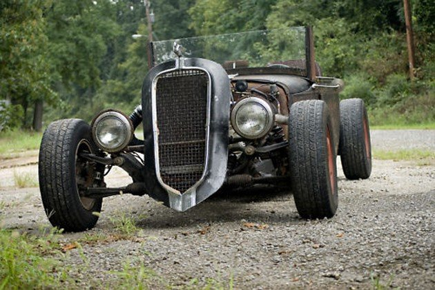 Mazda Miata forms basis for unlikely rat rod