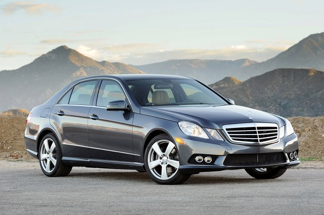 2012 Mercedes-Benz E-Class getting upgraded V6, twin-turbo V8