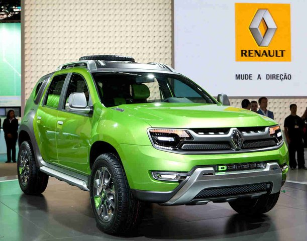 Renault Shows Dcross Concept in Brazil