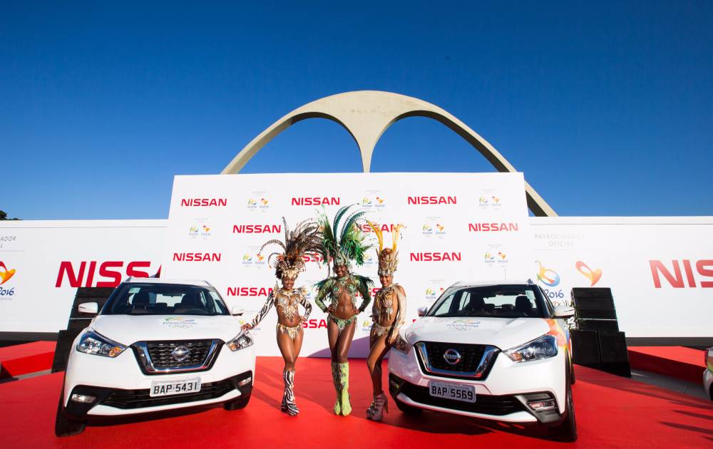 First lot of Nissan Kicks compact SUV handed over for Rio2016 games