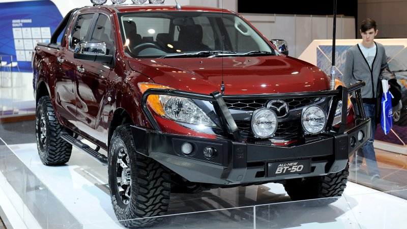 Mazda and Isuzu to collaborate on a new pickup truck
