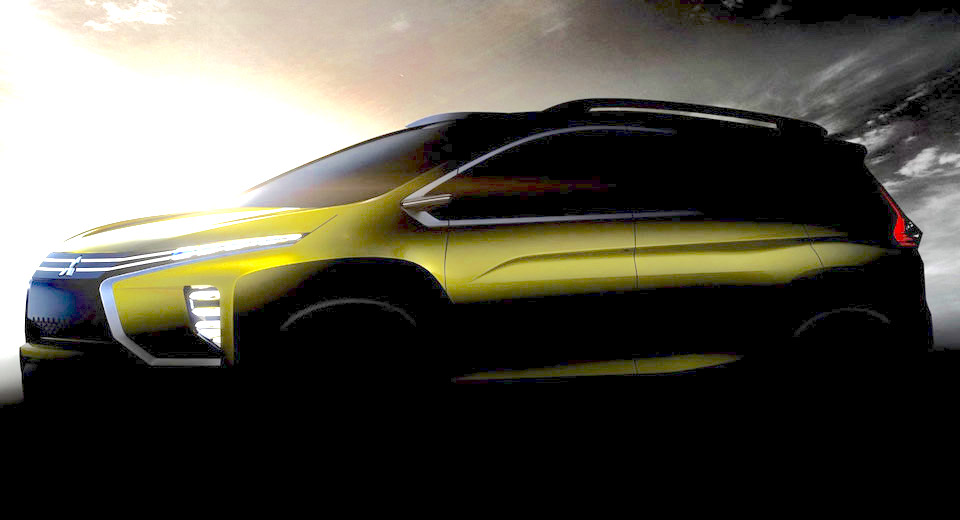 Mitsubishi teases new crossover MPV concept, unveil at 2016 GIIAS