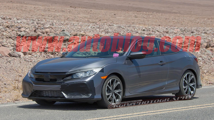 Honda Civic Si spotted looking sporty but mature