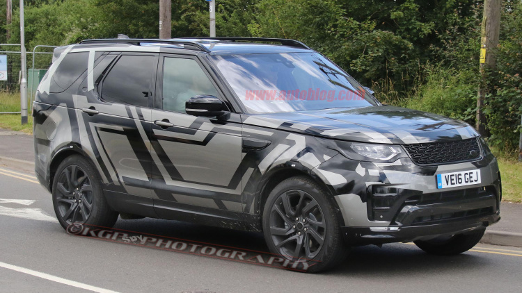 Land Rover Discovery spy shot