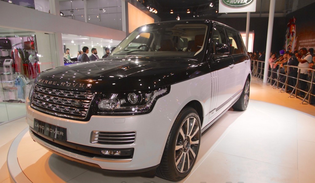 The next-gen Range Rover is still faraway; the current model (pictured)