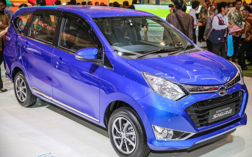 Daihatsu Sigra (Toyota Calya mini MPV's twin) revealed at GIIAS