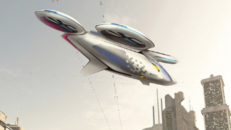 Airbus wants to build flying taxis because everyone hates traffic