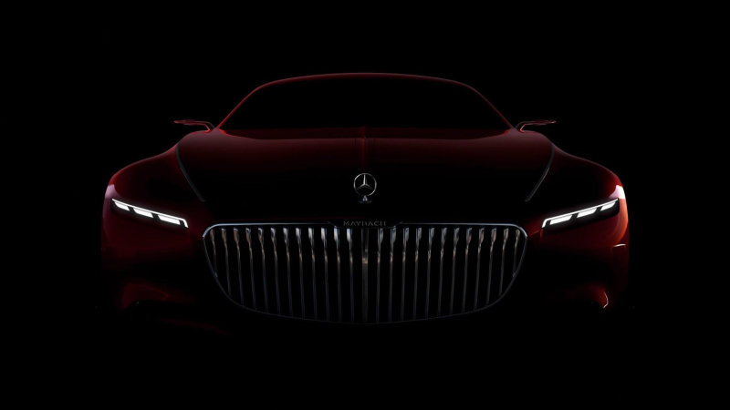 Vision Mercedes-Maybach 6 to debut in Monterey