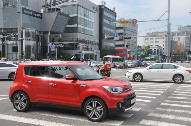 New Kia Soul spotted