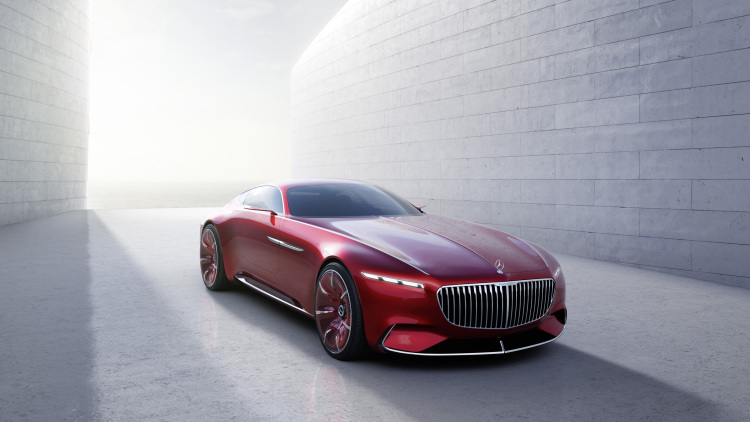 The Vision Mercedes-Maybach 6 is pure electric excess
