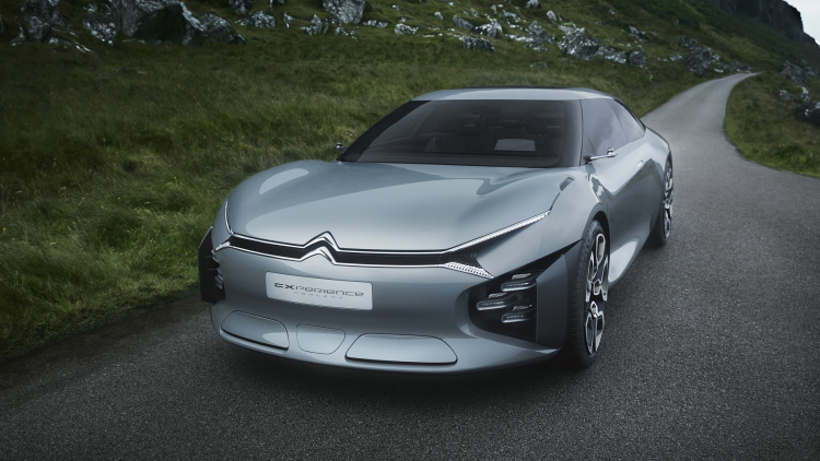 Citroen created a station wagon concept with sound bubbles