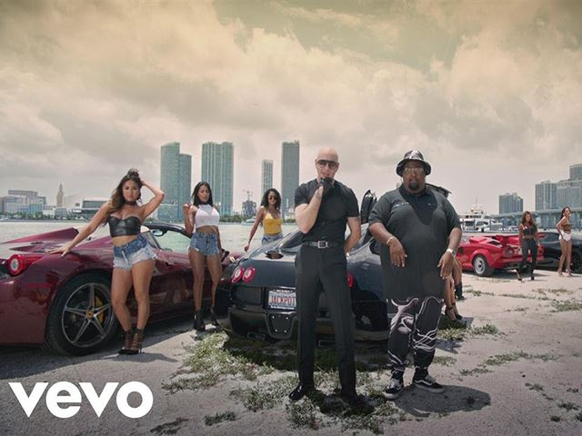 Pitbull's Newest Music Features A Bugatti Limousine And Other Fast Cars