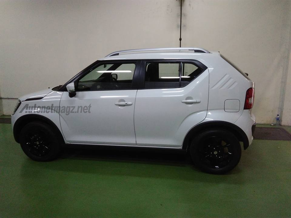 Suzuki Ignis spied in Indonesia