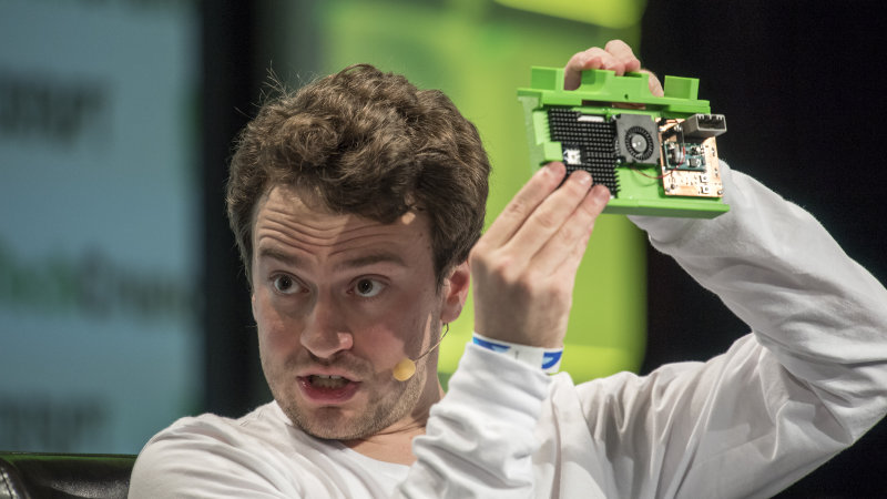 George Hotz unveiled the first official product of his automotive AI startup, Comma.ai