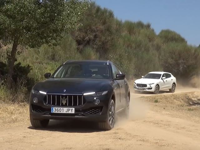 Maserati Levante And Bentley Bentayga Battle Off-Road