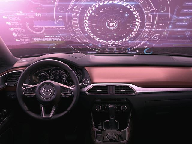 Mazda 3D Windshield