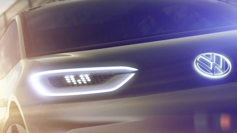 VW new electric concept teaser