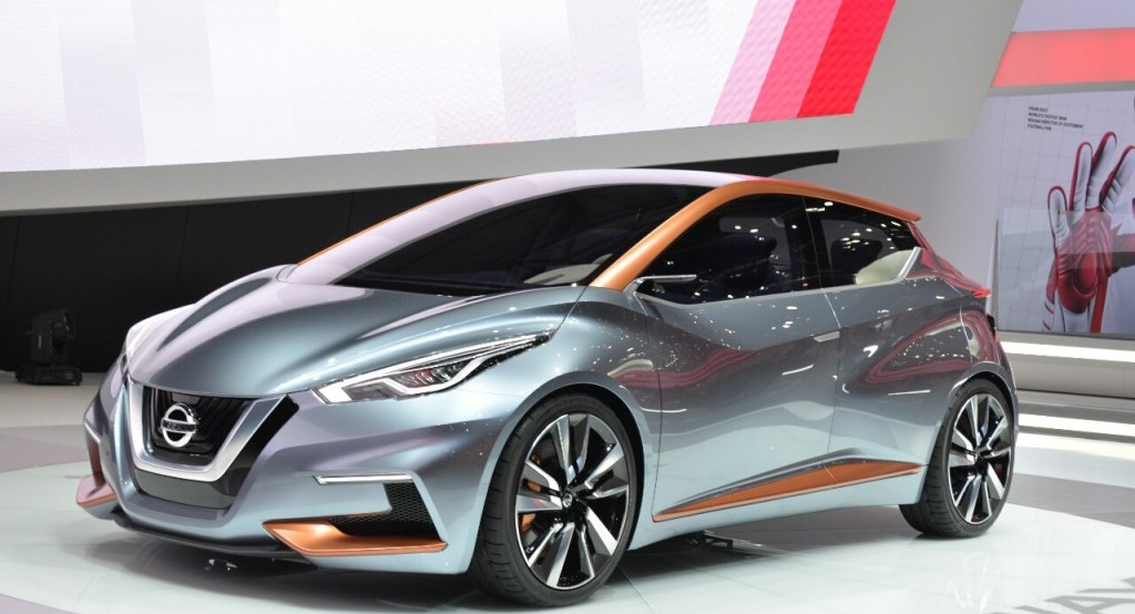 The next gen Micra will mirror the styling of the Nissan Sway Concept