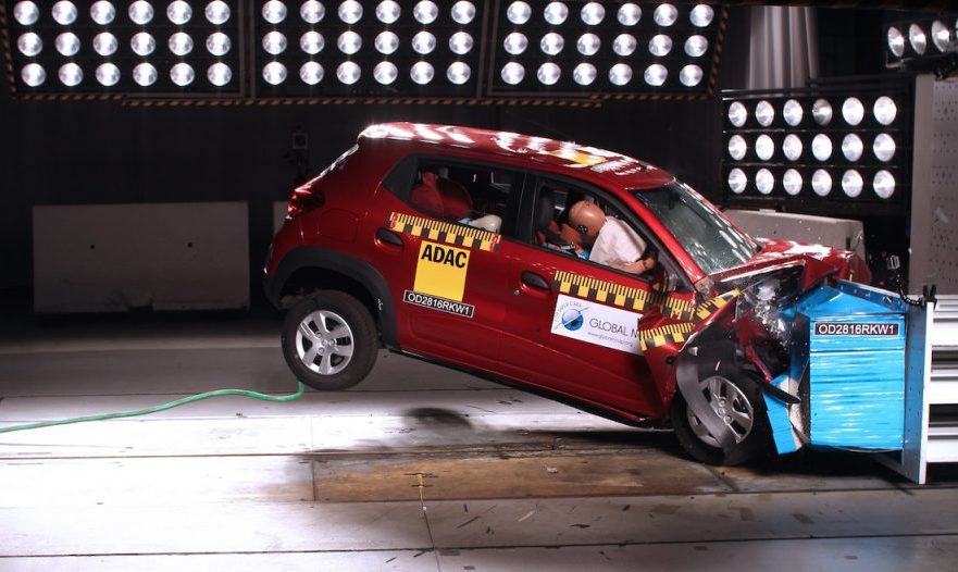 Renault Kwid GNCAP crash test