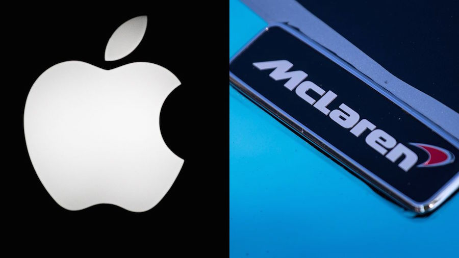 ": ""We can confirm that McLaren is not in discussion with Apple in respect of any potential .."""