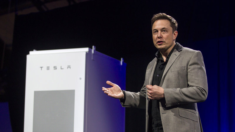 Tesla Powerpack is a massive collection of batteries