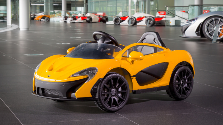 McLaren offers a fully electric P1 roadster for $486