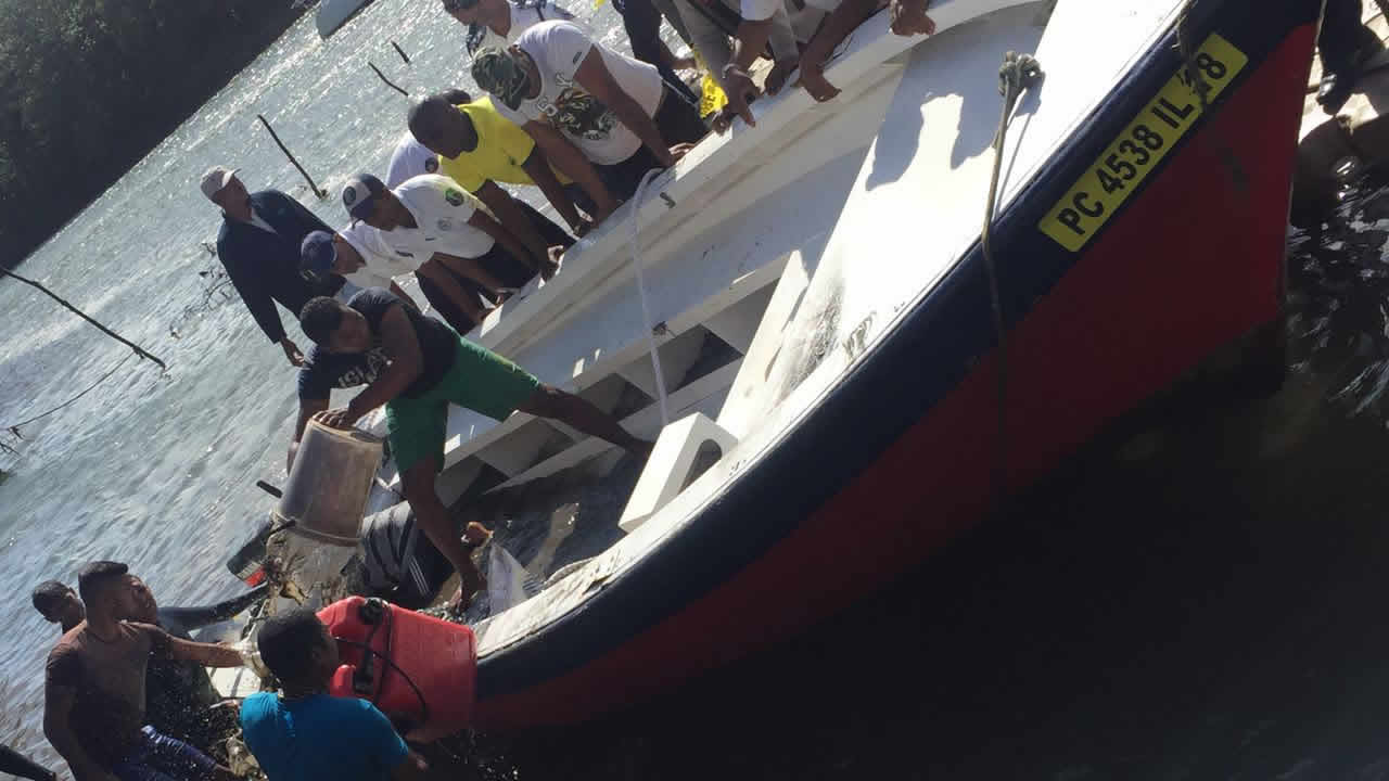 GRSE accident - boat