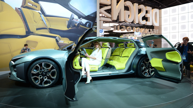 Three of the strangest French car features from the 2016 Paris Motor Show