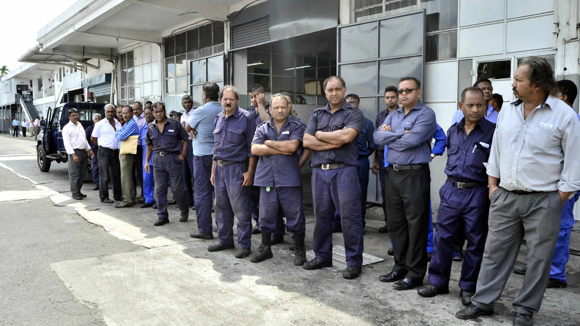 Archive Photo: NTC strike in January