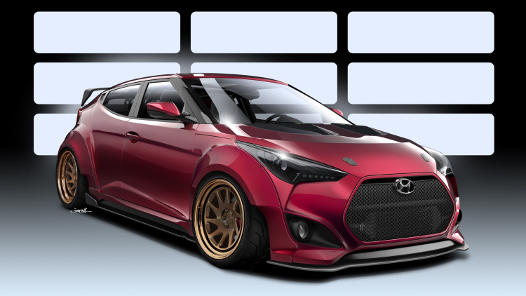 Hyundai and Gurnade build a mildly wild Veloster Turbo