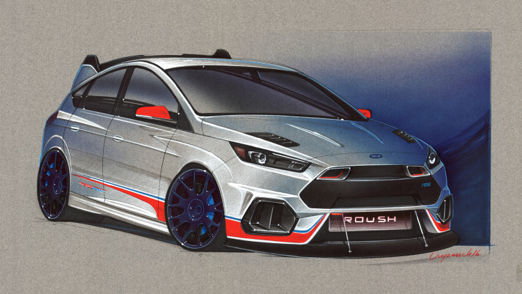 Ford Focus Hatch for SEMA