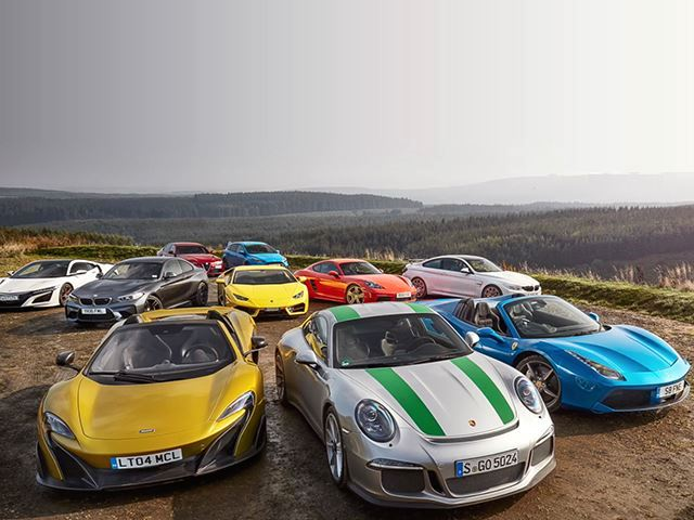 The Largest Ever Sports Car Test Is A Festival Of Horsepower