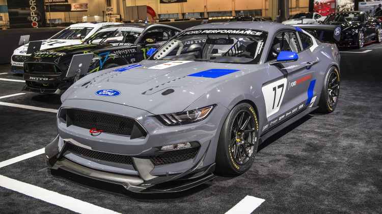 The Ford Mustang GT4 is ready to take on racers worldwide