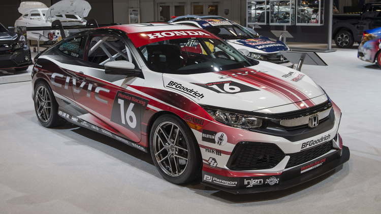 2017 Honda Civic Coupe Racing