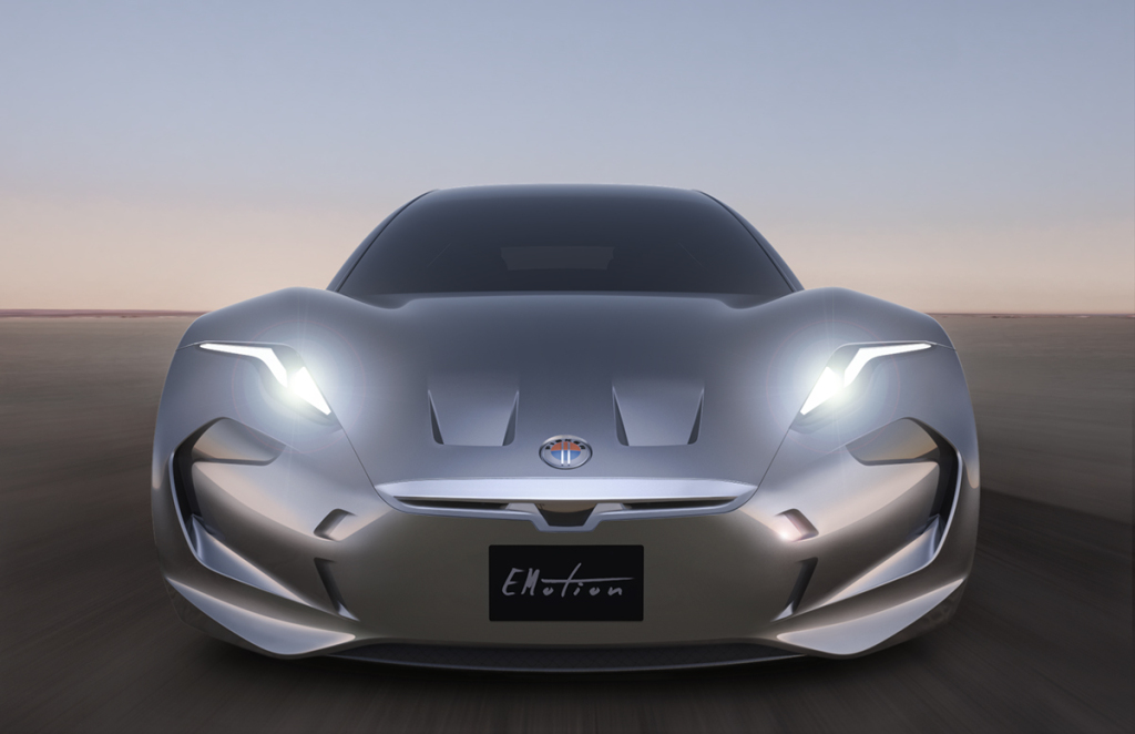 Hereu0027s Fisker Incu0027s First Car, The All Electric EMotion Luxury Sport Sedan