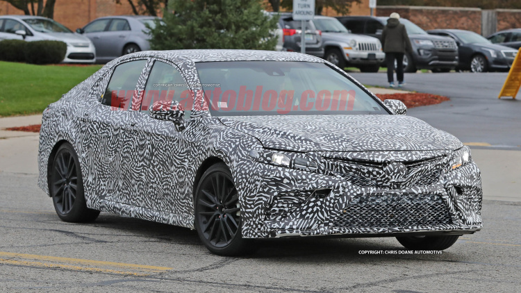 2018 Toyota Camry spied