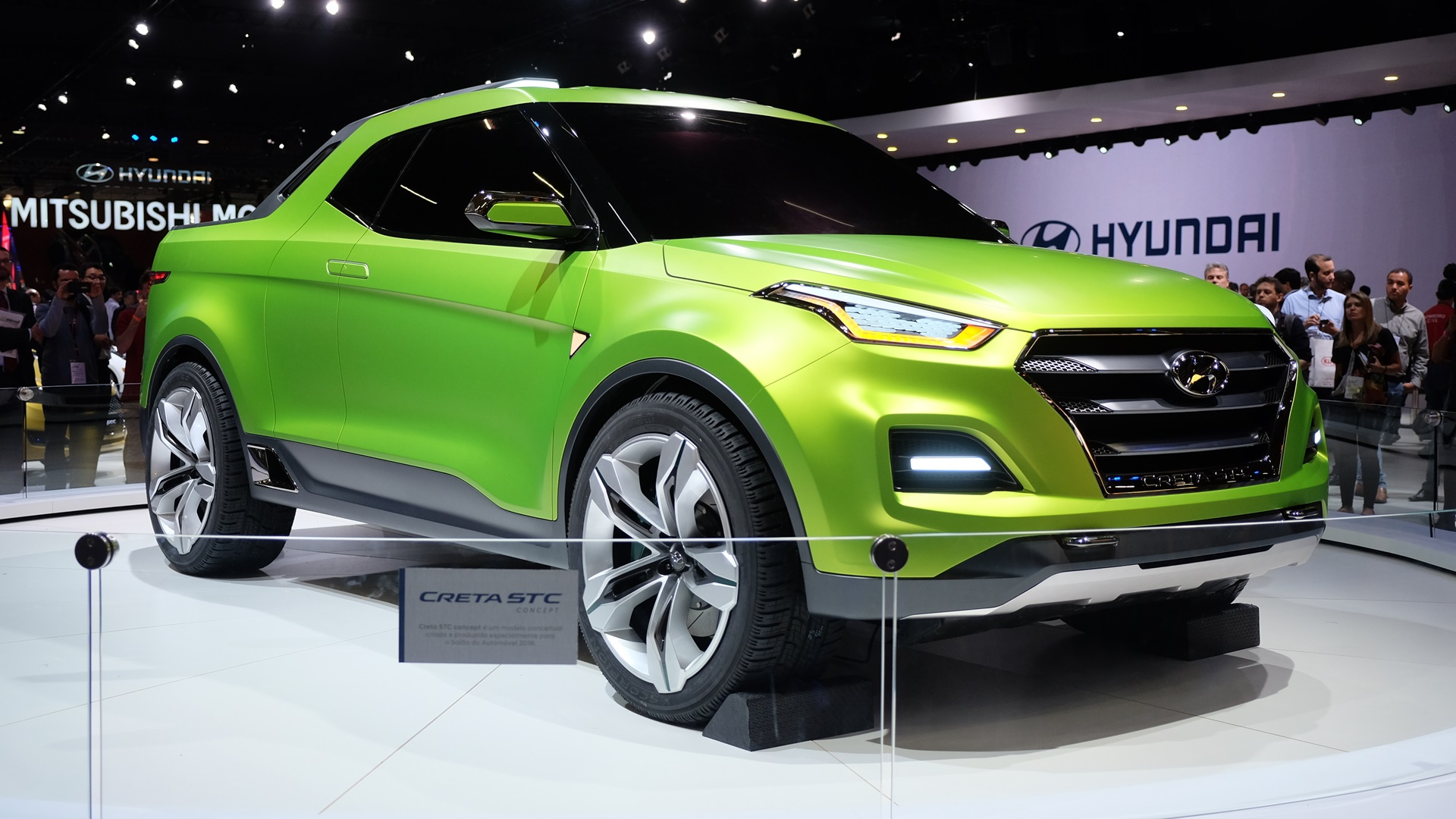 Hyundai Creta STC (Creta pick up) unveiled in Brazil