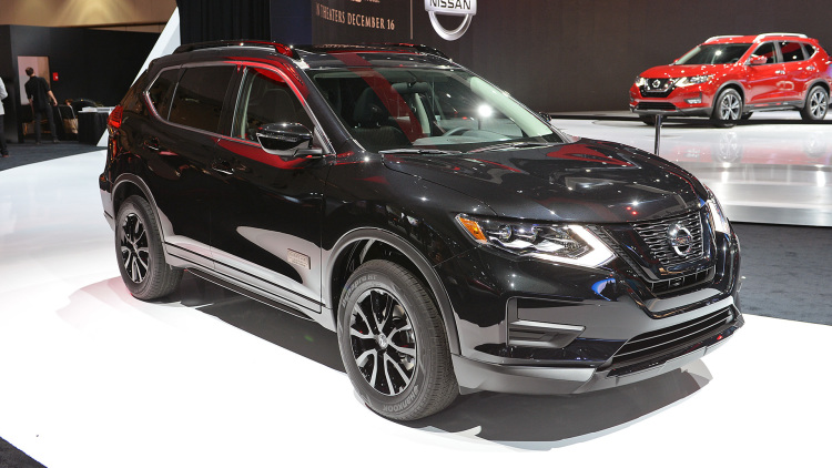 The Nissan Rogue One Star Wars Edition is a CUV from a driveway far, far away
