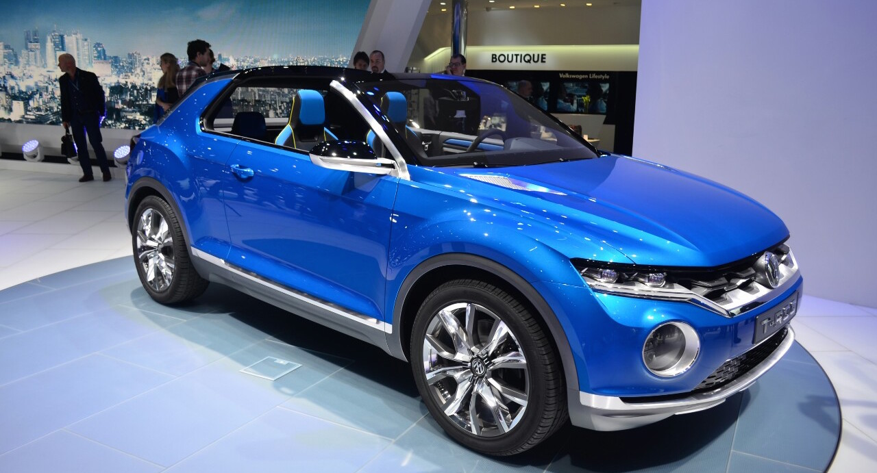 VW T-Roc SUV to debut at 2017 Geneva Motor Show