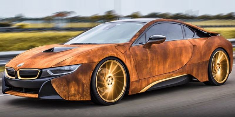 How To Make A Bmw I8 Polarizing In Two Easy Steps