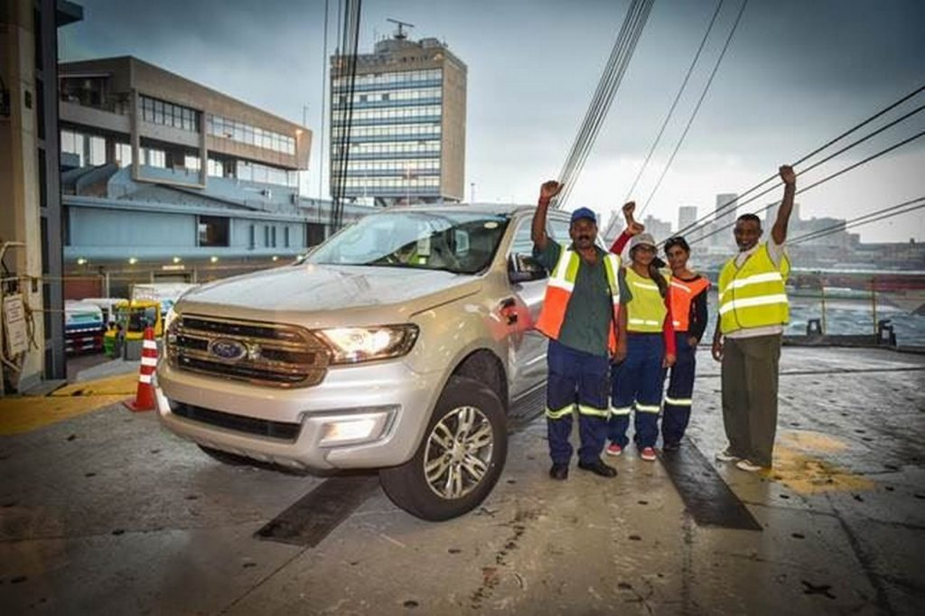 Ford Everest exports commence in South Africa