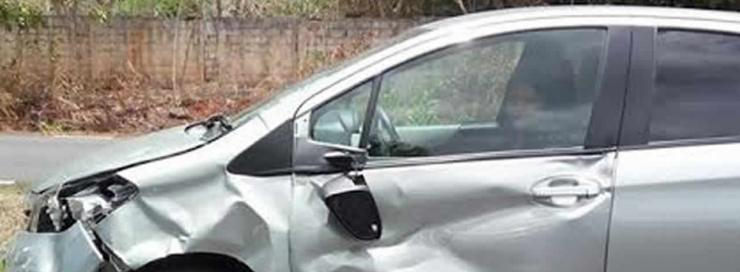 The car that hit Seevaram Chellan, 77, on 24 November