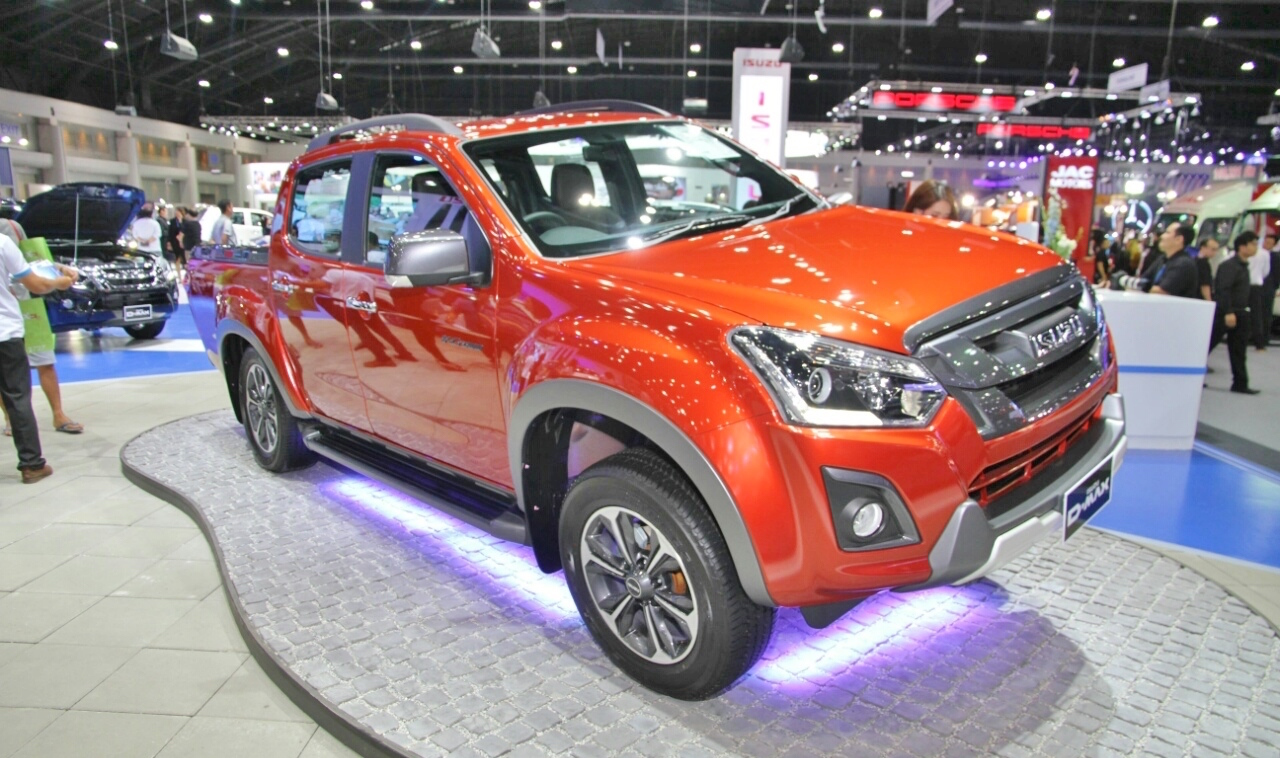 Isuzu showcased the new Isuzu D-Max V-Cross Max 4×4
