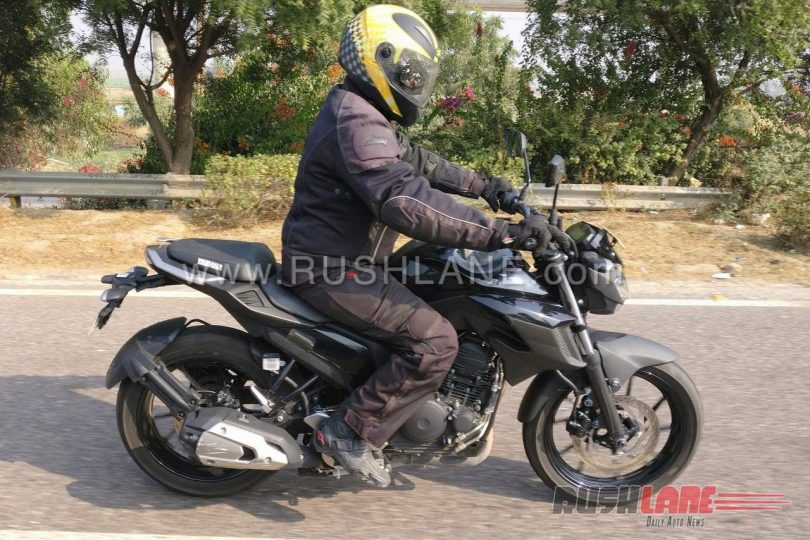 Yamaha FZ 250  spy shot