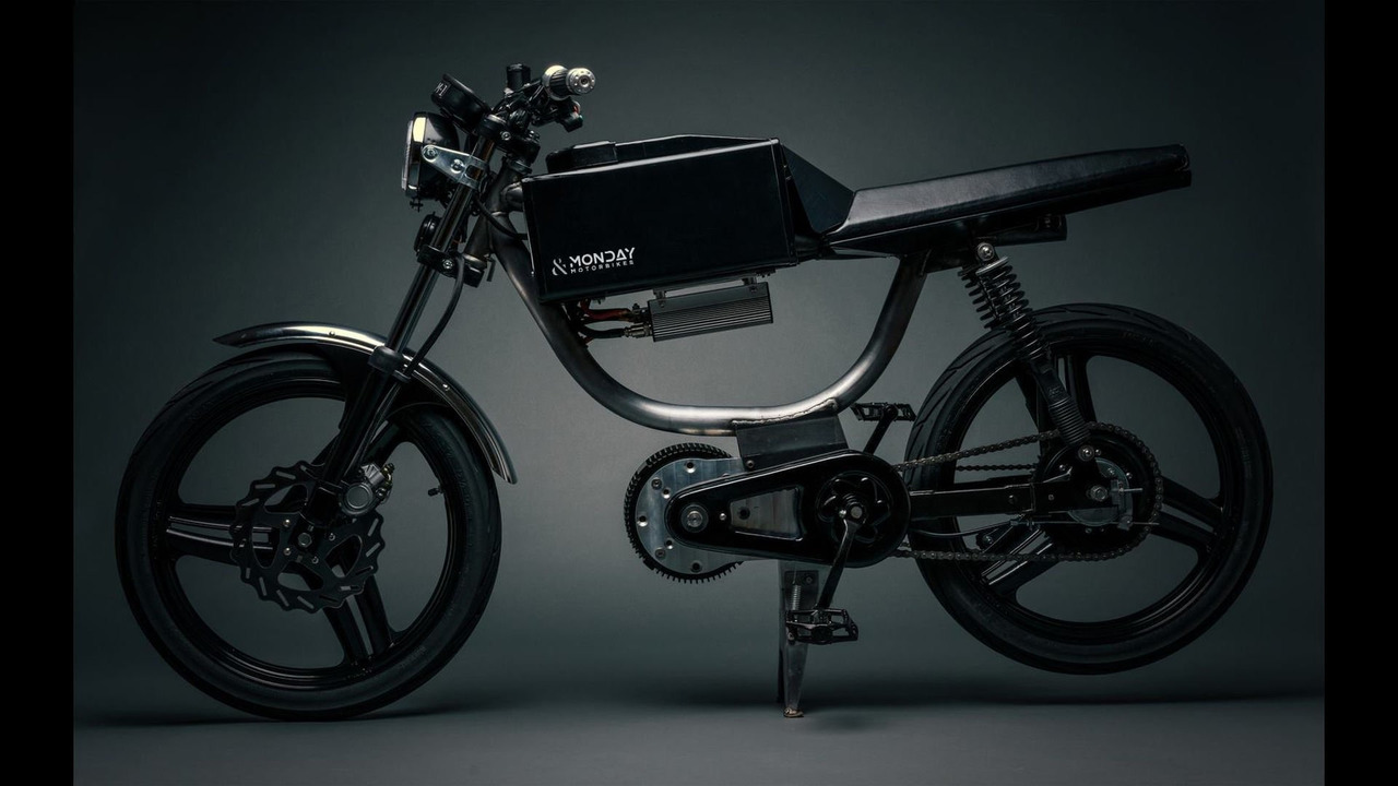 Monday Motorbikes reveals electric bicycle with 80-km range