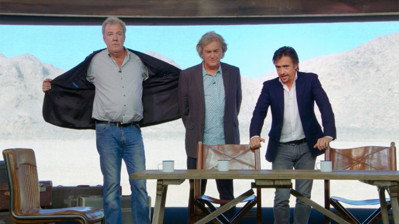 Amazon is streaming The Grand Tour's first episode for free through Dec. 26
