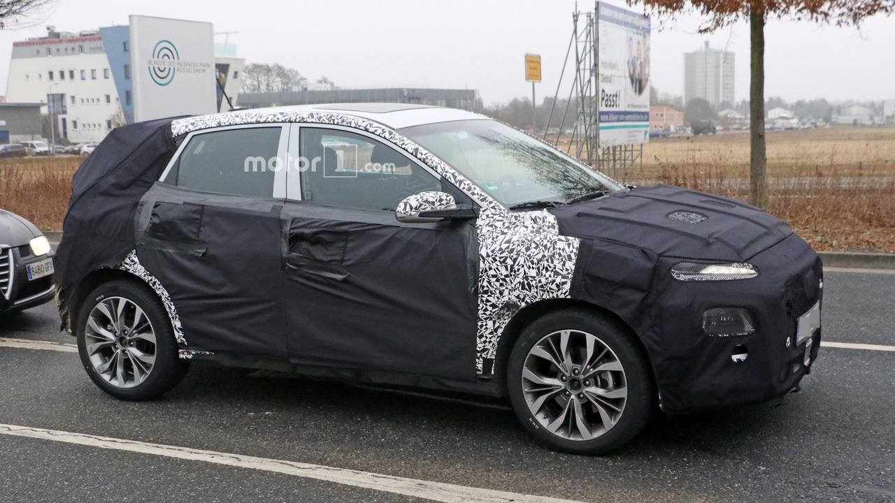 2018 Hyundai spy shot